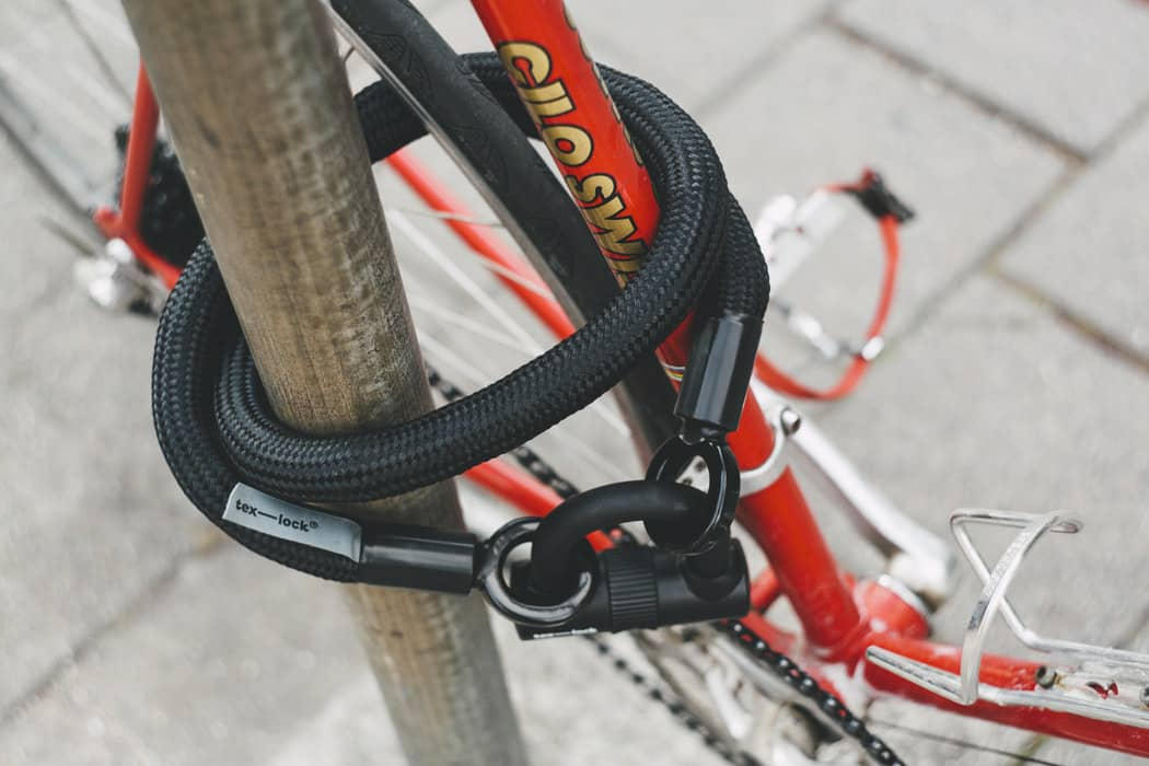 How to keep bike safe when camping